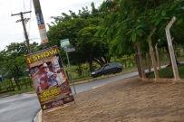 A poster for Fernando's show.