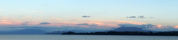 Puerto Varas mountain panorama