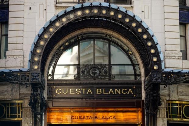 Cuesta Blanca on Florida Street