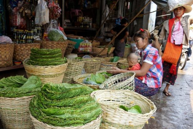 Zay Cho Market in Mandalay