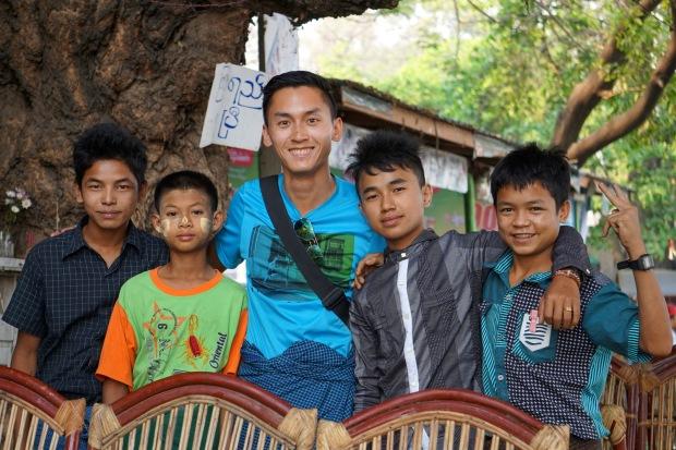 Children from Mandalay